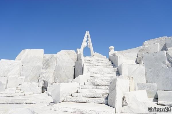 """""""日本のギリシャ""""と称される真っ白な大理石で作られた別世界"""