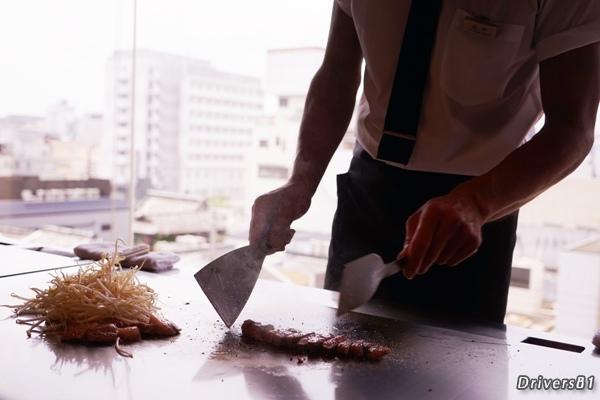 鉄板料理人
